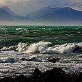 Rough Seas Kaikoura New Zealand by Amanda Stadther