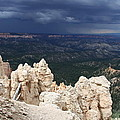 Rough Skys Over Bryce Canyon by Christiane Schulze Art And Photography