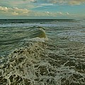 Rough Surf Hatteras 2 10/17 by Mark Lemmon
