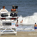Rough Water At Bethany Beach In Delaware  by William Kuta