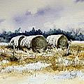 Round Bales by Sam Sidders