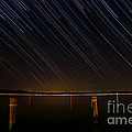 Round Bay Startrails by Benjamin Reed