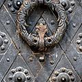 Round Metal Doorknob by Jaroslaw Blaminsky