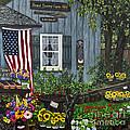 Round Swamp Farm By Alison Tave by Sheldon Kralstein