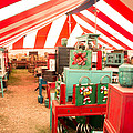 Round Top Texas Under The Big Tent by JG Thompson