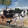 Rousseau, Henri 1844-1910. Old Man by Everett