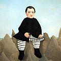 Rousseau's Boy On The Rocks by Cora Wandel