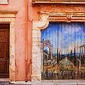 Roussillon Door by Brian Jannsen