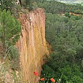 Roussillon Red Rock Landscape by Christiane Schulze Art And Photography