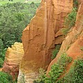 Roussillon - Red Rocks  by Christiane Schulze Art And Photography