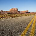 Route 128 Near Castle Valley by Adam Romanowicz