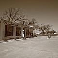 Route 66 - Bent Door Cafe by Frank Romeo