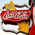 Route 66 Coca Cola by Denise Mazzocco