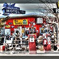 Route 66 Collage by Gary Gunderson