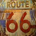 Route 66 by Denise Mazzocco