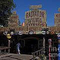 Route 66 Gift Shop Disneyland by Jason O Watson