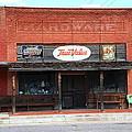 Route 66 - Hardware Store Erick Oklahoma by Frank Romeo