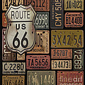 Route 66 by Jean Plout