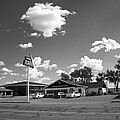 Route 66 - Midpoint Cafe Adrian Texas by Frank Romeo