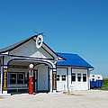 Route 66 Odell Il Gas Station 02 by Thomas Woolworth