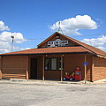 Route 66 - Old Log Cabin 3 by Frank Romeo