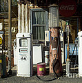 Route 66 Pumps by Bob Christopher
