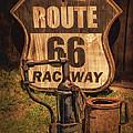 Route 66 Raceway by Priscilla Burgers