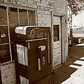 Route 66 - Rusty Coke Machine 2 by Frank Romeo