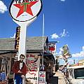 Route 66 - Seligman Arizona by Frank Romeo