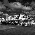 Route 66 - The Big Texan 003 Bw by Lance Vaughn