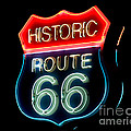 Route 66 by Theodore Clutter