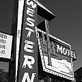 Route 66 - Western Motel 7 by Frank Romeo