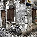 Rovinj Street Corner by Crystal Nederman