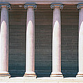 Row Of Columns San Francisco Ca by Panoramic Images