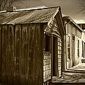 Row Of Houses by Jennifer Lavigne
