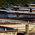 Rowboats At A Lake by Jannis Werner