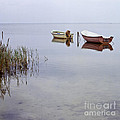 Rowboats On Nonnensee by Heiko Koehrer-Wagner