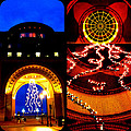 Rowes Wharf Christmas by Mark Valentine