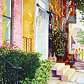 Rowhouses by Mick Williams