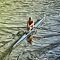 Rowing Crew by Bill Cannon