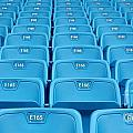 Rows Of Emtpy Seats by Yali Shi
