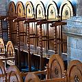 Rows Of Prayers Chairs by Frank Gaertner
