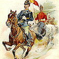 Roxbury Horse Guards 1895 by Padre Art