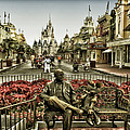 Roy And Minnie Mouse Antique Style Walt Disney World by Thomas Woolworth