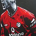 Roy Keane - Manchester United Fc by Geo Thomson