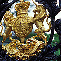 Royal Crest In London by Carl Purcell