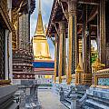 Royal Grand Palace Columns by Inge Johnsson