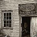 Royal Ice Cream Sepia by Steve Harrington