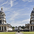Royal Naval College Courtyard by Heather Applegate