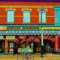 Royal Oaks British Pub Hillarys And Pc Perfect Glebe Central Paintings Of Ottawa Scenes C Spandau by Carole Spandau